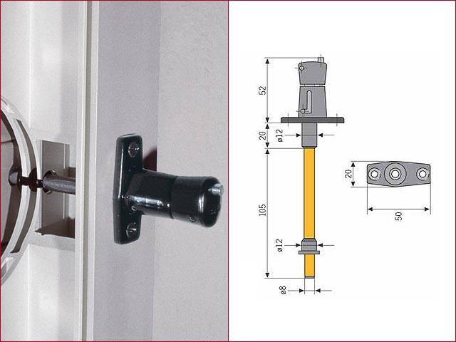 abus rollladensicherung rs 87 wei ebay. Black Bedroom Furniture Sets. Home Design Ideas