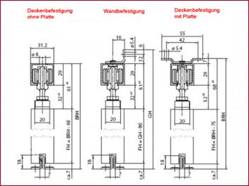 Schiebetür holz detail  GEZE Rollan 40 N 91-110 cm Porte coulissante saisir bois porte ...